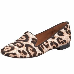 Sam Edelman Alvin Leopard Print Calf Hair Slipper